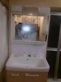 洗面化粧台・止水栓取替工事 埼玉県蕨市 00003