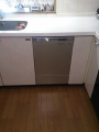ビルトイン食洗機取替工事(筒井) 東京都調布市 NP-45MC6T