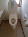 トイレ取替工事/CF張替工事(2ヶ所) 東京都小平市 CES9787F