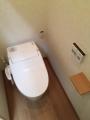 トイレ取替工事 愛知県北設楽郡東栄町 XCH3013WS