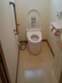 トイレ取替工事【筒井】 山梨県甲府市 CES9767F-NW1