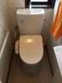 トイレ取替工事 千葉県千葉市中央区 CS230B-SH231BA-W