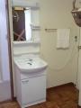 洗面化粧台取替工事 神奈川県横須賀市 LU502FEA-LUM501K