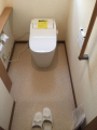 トイレ取替工事 千葉県八千代市 XCH1401WS