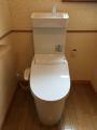 トイレ取替工事 茨城県小美玉市 XCH3013WST