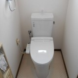 トイレ アクセサリー取替工事 福岡県北九州市八幡西区 BC-ZA10H-120-DT-ZA180H-BW1