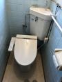 トイレ取替工事 神奈川県横浜市鶴見区 TCF2221E-SC1