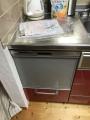 ビルトイン食洗機取替工事 奈良県五條市 RSW-404LP