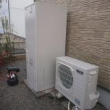 エコキュート トイレ取替工事 熊本県熊本市北区 SRT-S374U-set