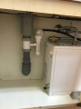 小型電気温水器取替工事 大阪府大阪市中央区 EHPN-F12N1